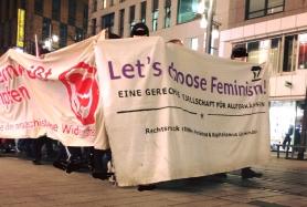 "Transparent ""lets choose feminism"""