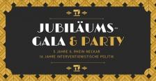 Jubiläumsgala und Party